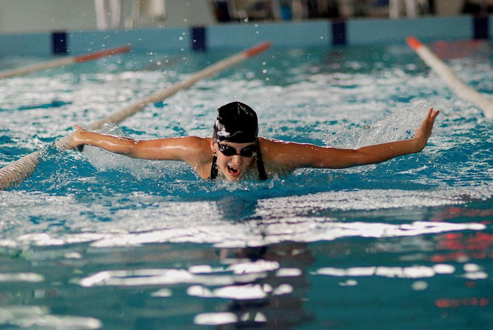 похудение плаванием